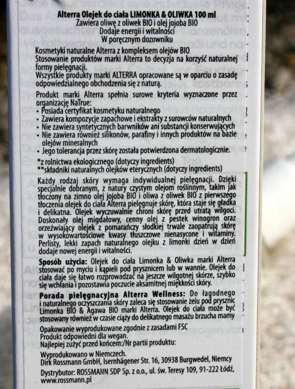 Alterra olejek do ciała limonka i oliwka glowlifestyle.pl-002