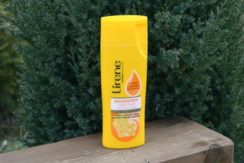 Lirene dermoprogram miodowy nektar do mycia ciała glowlifestyle.pl