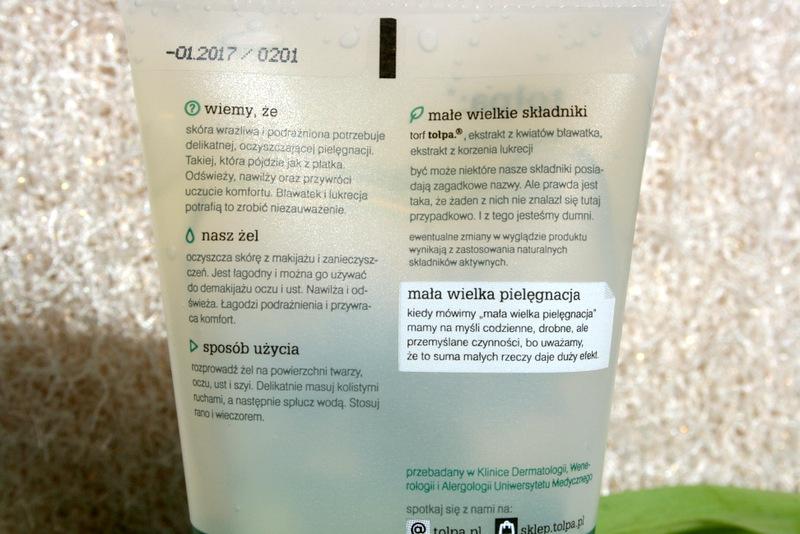 Tołpa green żel do mycia twarzy i oczu glowlifestyle.pl-002
