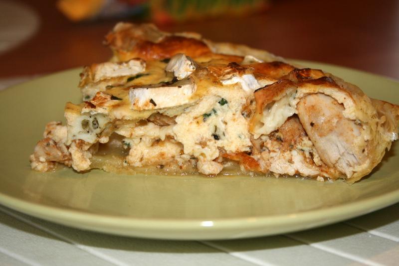 Tarta z kurczakiem i serem pleśniowym glowlifestyle.pl-009