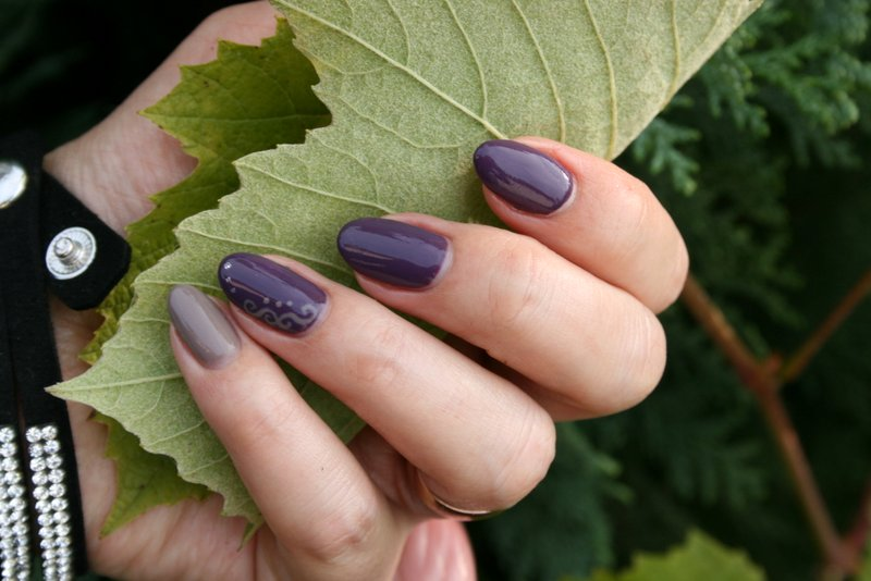 semilac 014 dark violet dreams