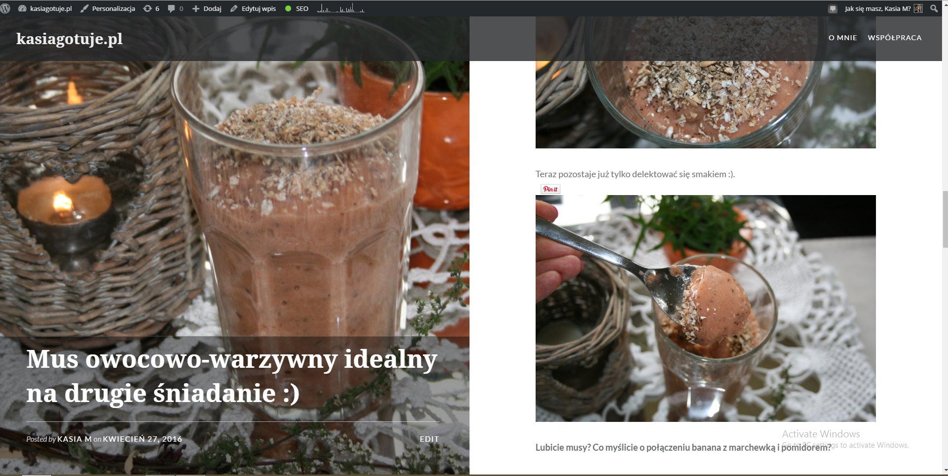 linkowe party i nowy blog