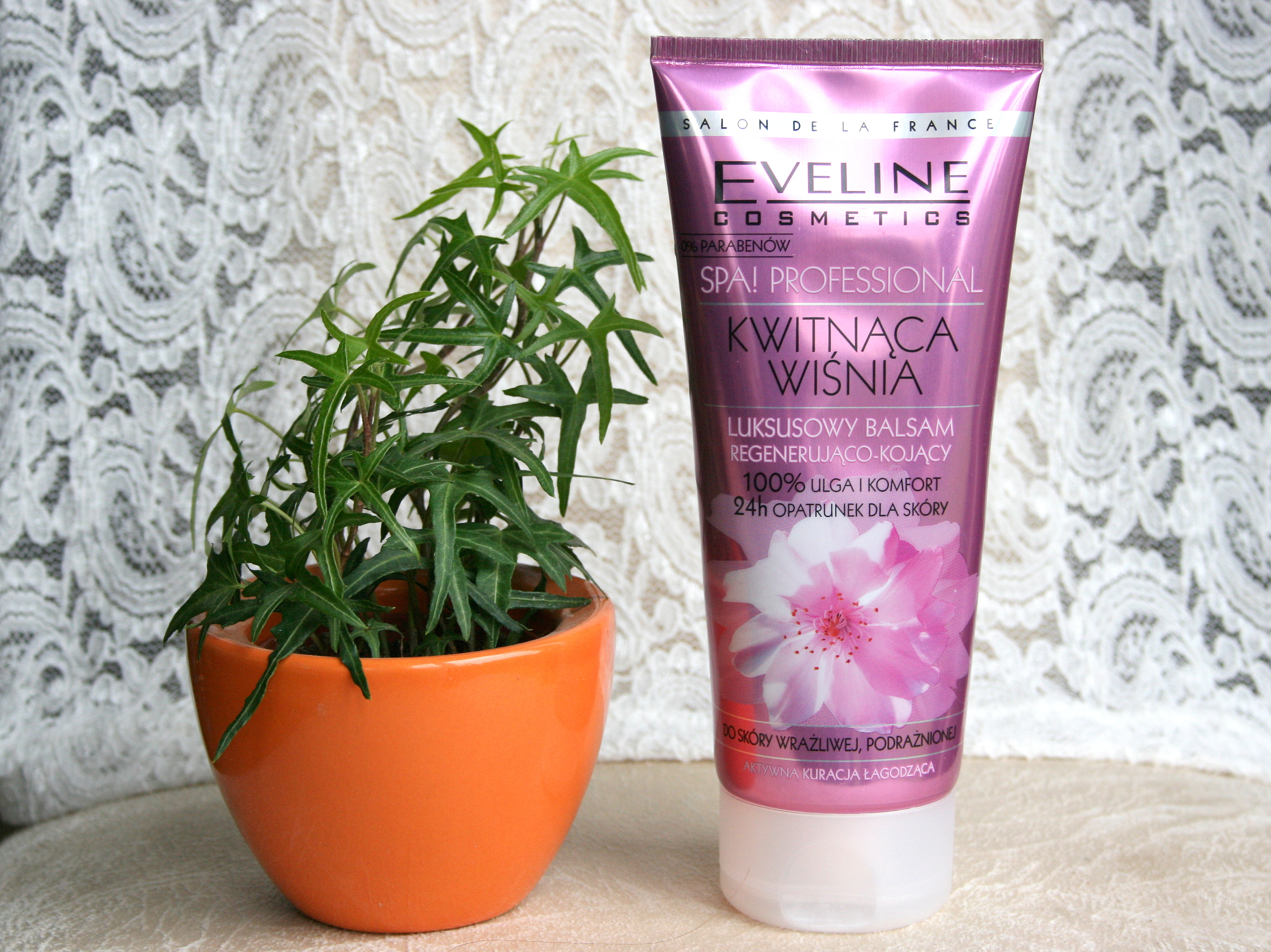balsam regenerująco kojący kwitnąca wiśnia Eveline