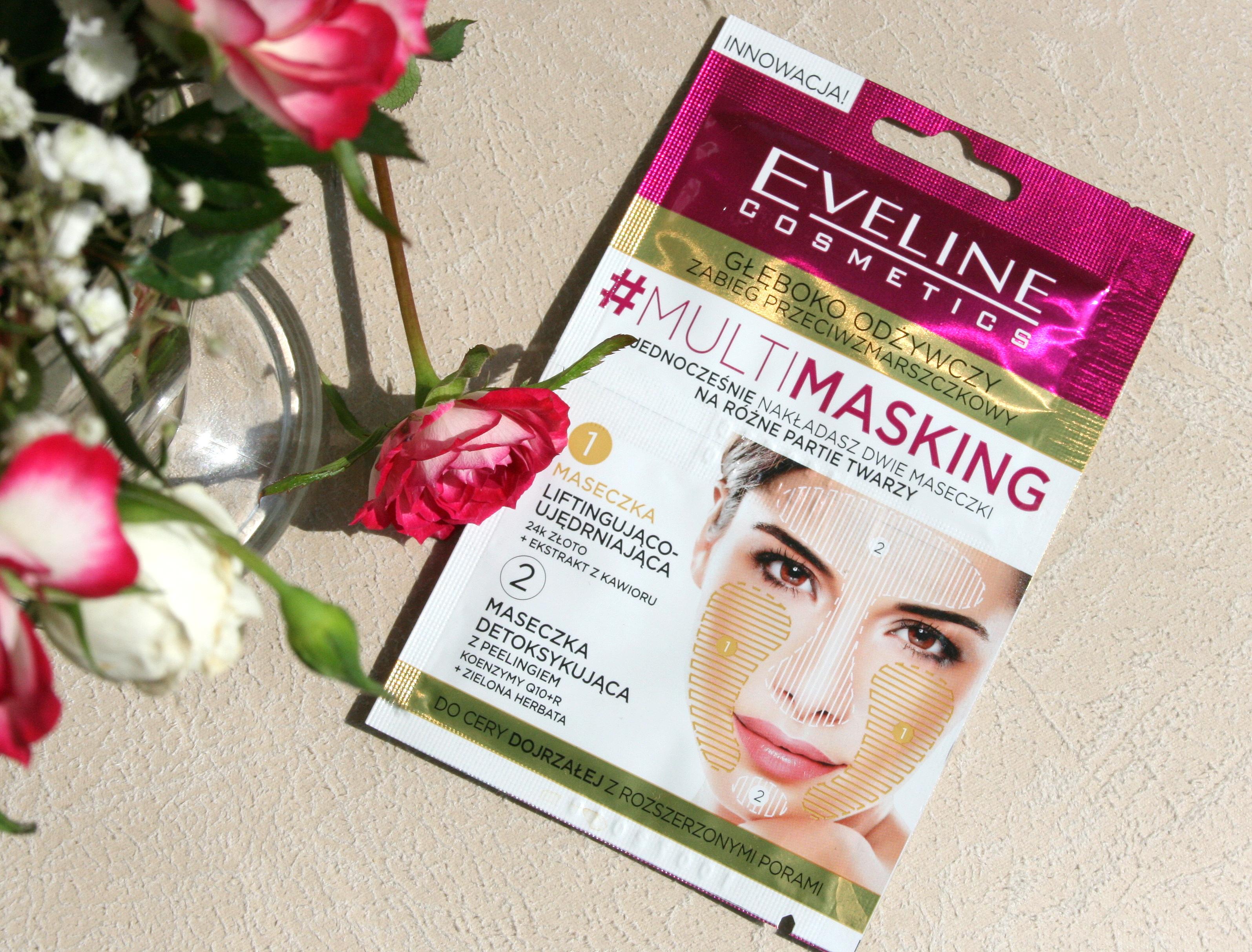 Eveline Multimasking zabieg przeciwzmarszczkowy oraz redukujący zaczerwienienia