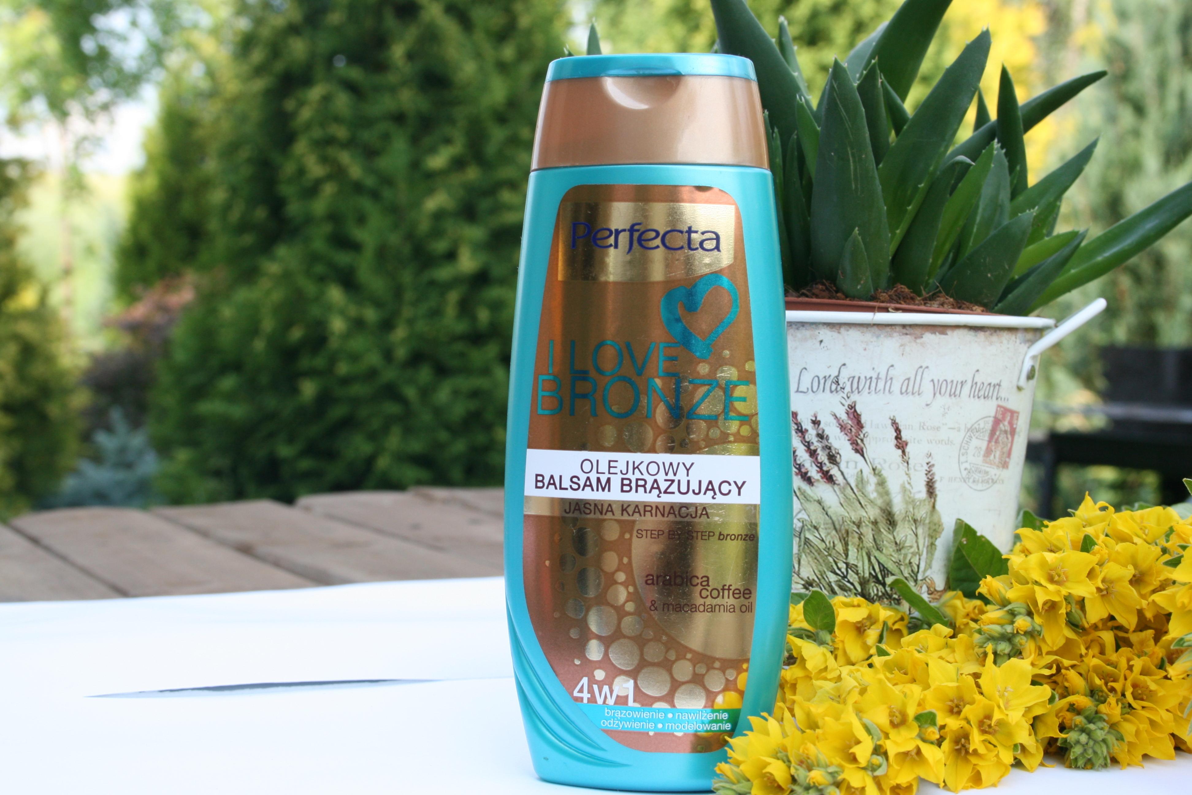 balsam brązujący słoneczne kosmetyki