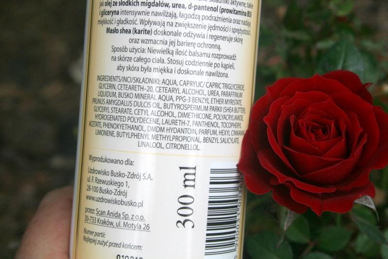 Balsam do ciała z uzdrowiska Busko Zdrój