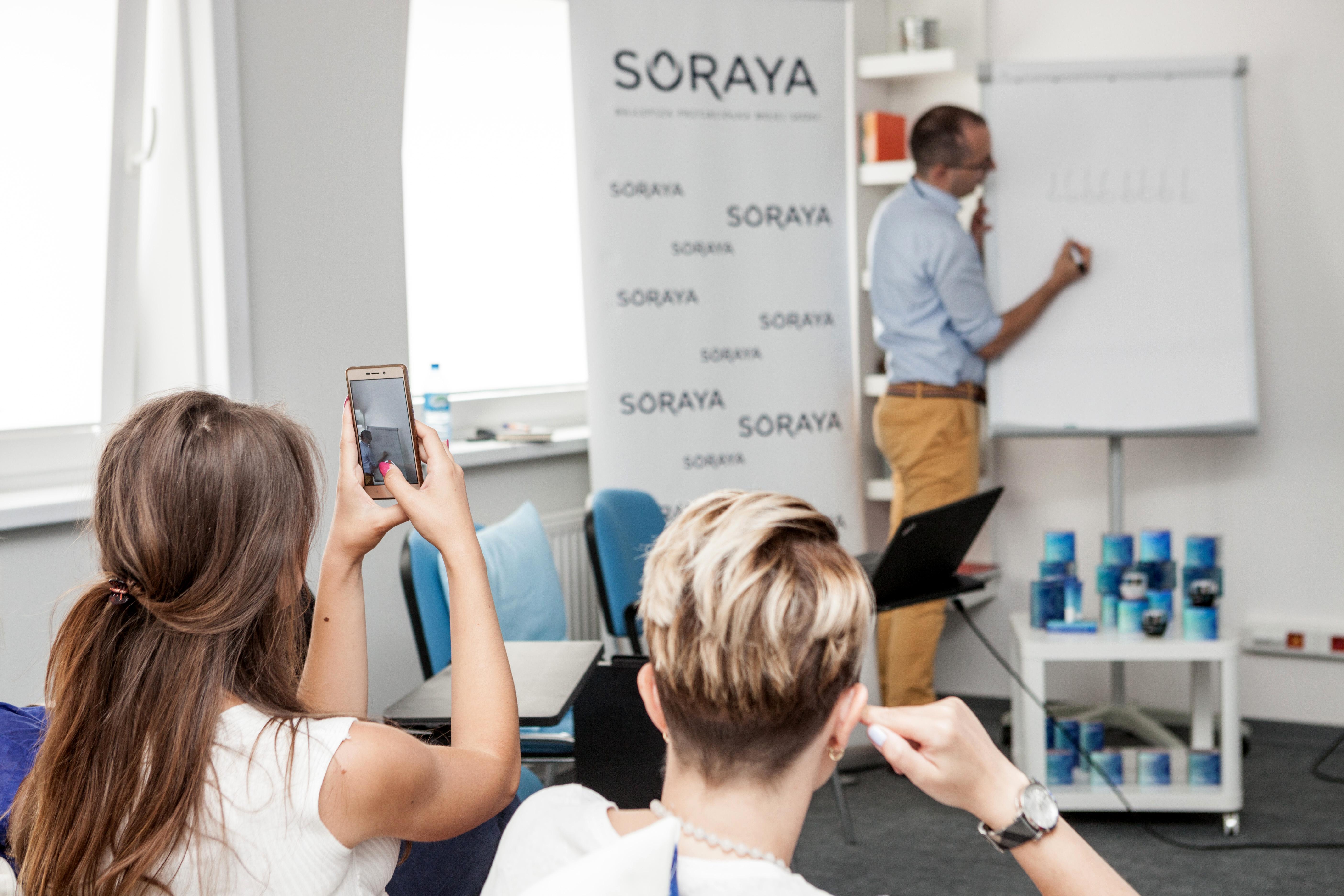 z wizytą w laboratorium Soraya