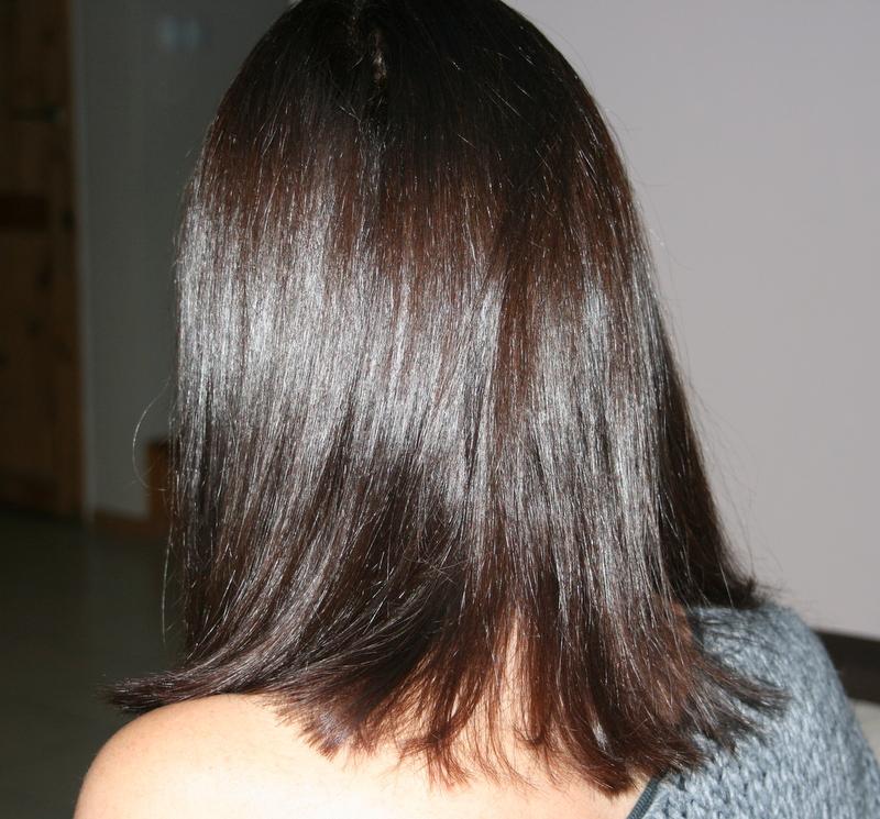 nowy kolor włosów