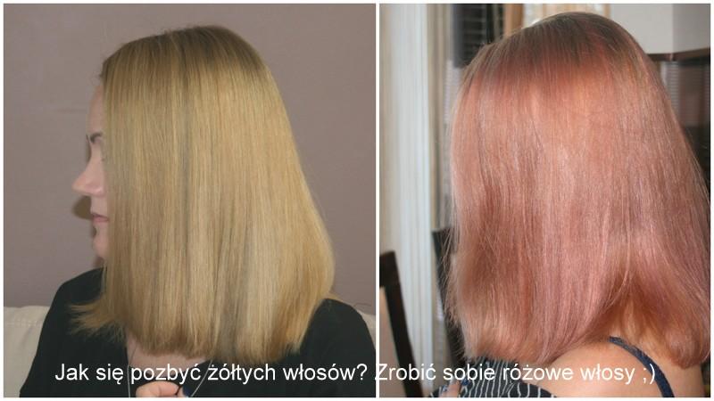 Jak się pozbyć żółtych włosów? Zrobić sobie różowe włosy :