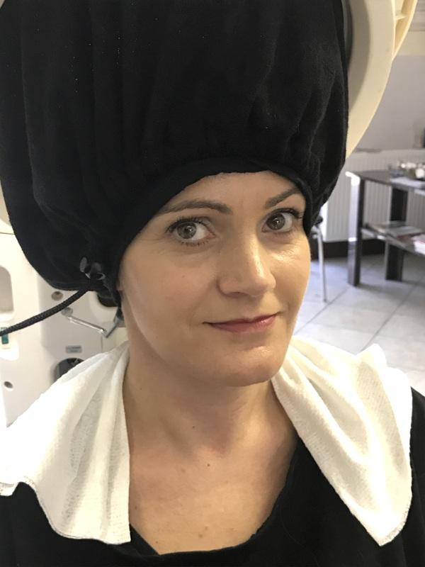 sauna ozonowa na włosy