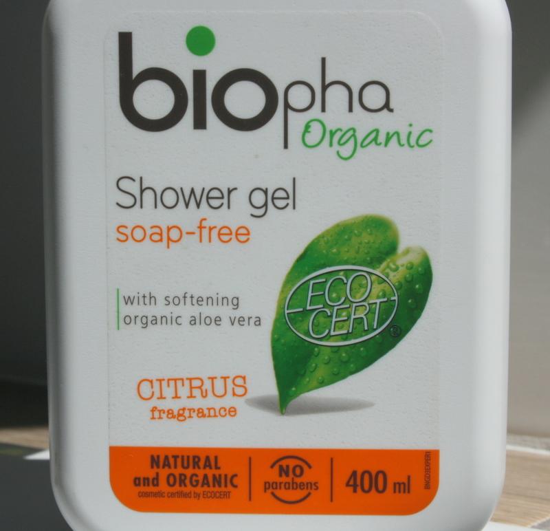 BIOpha Naturalny Żel pod Prysznic z Cytrusami