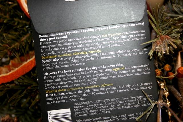 Hydrożelowe płatki pod oczy Exclisive Cosmetics
