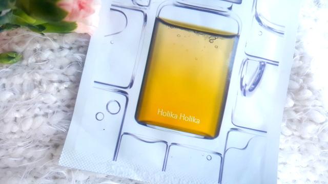 holika holika maska w płachcie z witaminą c