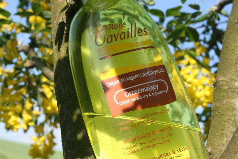 Roge Cavailles orzeźwiający olejek do kąpieli i pod prysznic