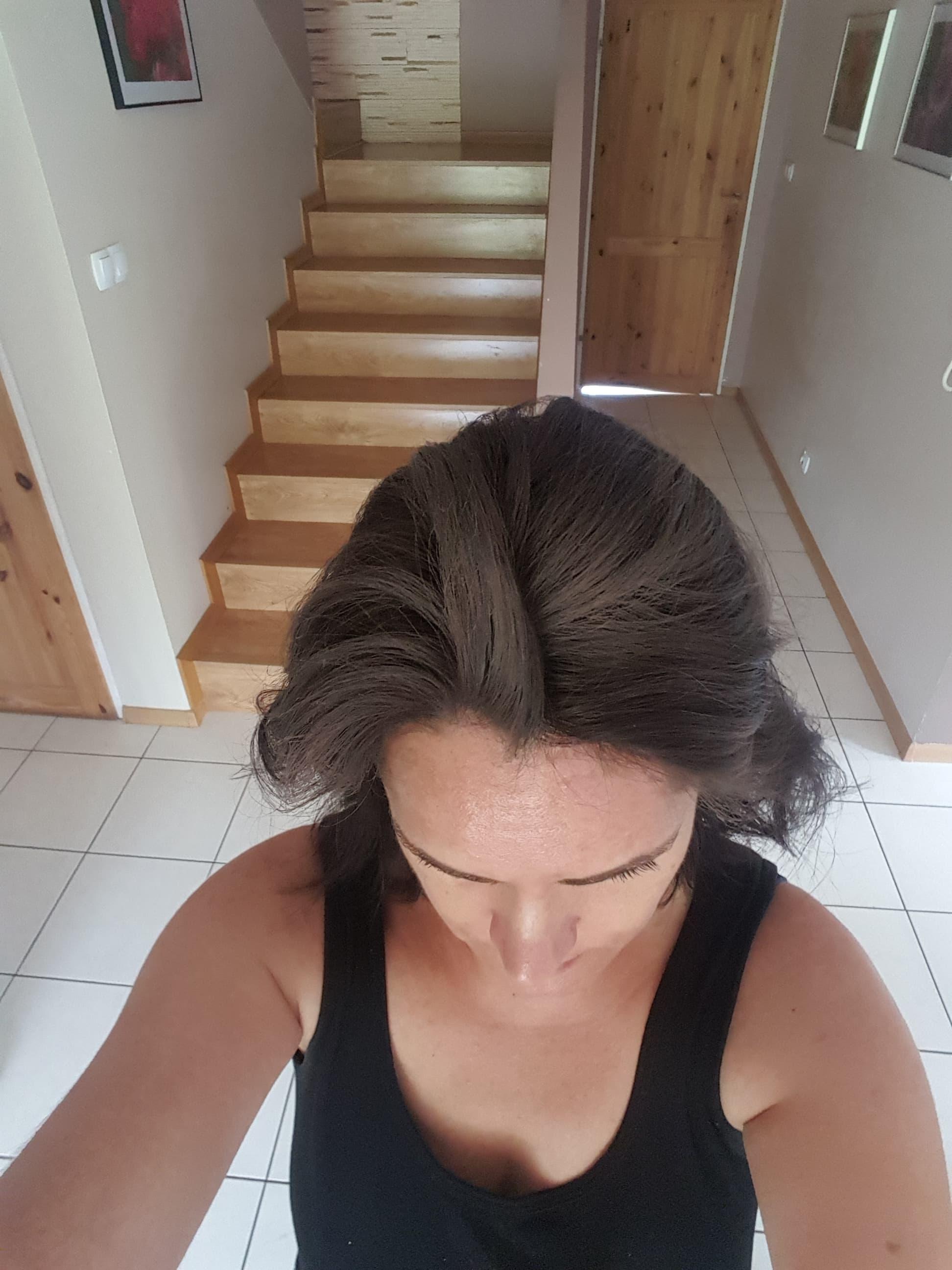 suchy szampon dla brunetek