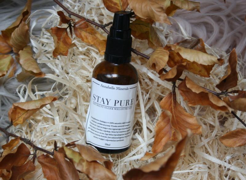 oczyszczanie twarzy olejami annabelle mineralsa tay pure