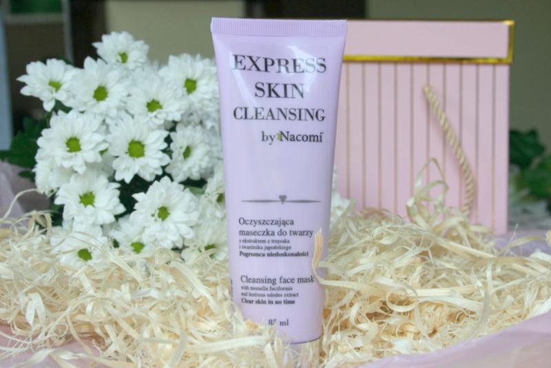 Nacomi Express Skin Cleansing Oczyszczająca maseczka do twarzy