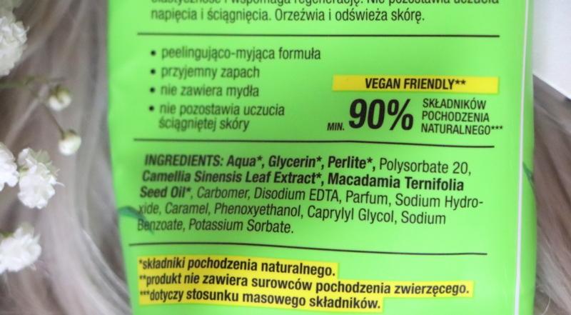 Food For Skin Wegańskie żele do mycia ciała z Lidla