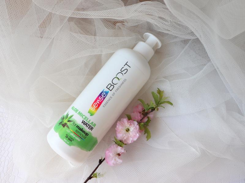 Kosmetyki Sense BOOST płyn micelarny z aloesem