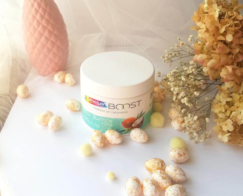 Kosmetyki Sense BOOST witalizujące masło do ciała