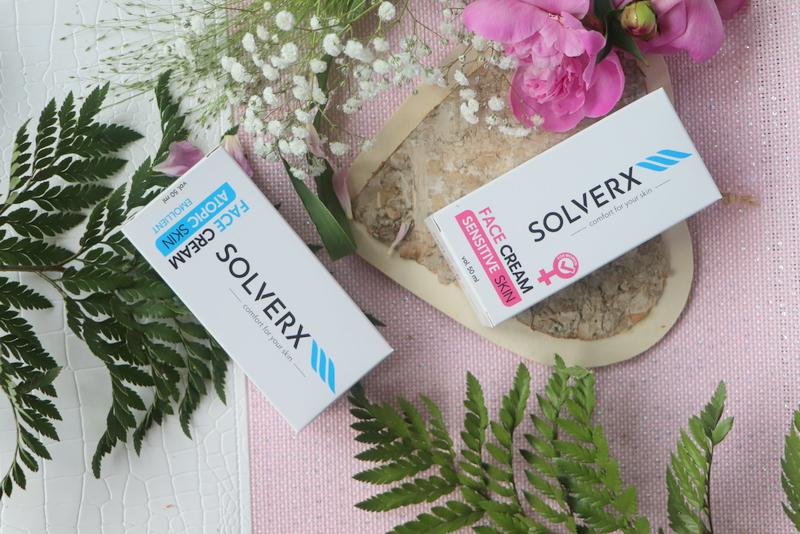 Solverx kremy do skóry wrażliwej i atopowej