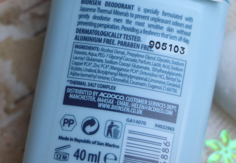 Biosen skład