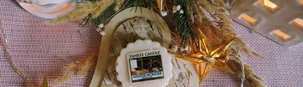 Yankee Candle Winter Wonder wosk zapachowy